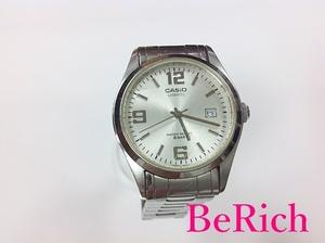カシオ CASIO メンズ 腕時計 MTP-1181 シルバー 文字盤 ブレス SS アナログ クォーツ QZ ウォッチ【中古】 ht2796