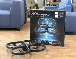 Parrot/パロット AR.Drone2.0/ARドローン2.0 ラジコン PowerEdition/パワーエディション HDカメラ搭載 スマホでコントロール