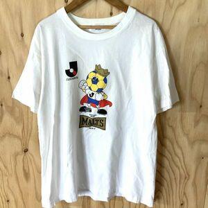 激レア 当時モノ 非売品 90年代 ミズノ製 Jリーグ サントリーモルツ コラボtシャツ シングルステッチ 90s サッカー MIZUNO