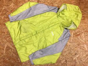 LOGOS ロゴス アウトドア スポーツ キャンプ ブルゾン マウンテンパーカー ジャケット メンズ ポリエステル100% 裏地メッシュ M 緑