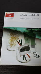 * catalog Victor (Victor)DD-VR77MKⅡ/TD-V66/TD-WR99/TD-W60 JVC cassette deck / audio 1986 year C2047