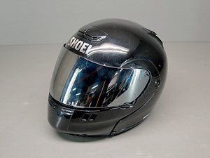 ★SHOEI SYNCROTEC フリップアップ フルフェイスヘルメット どジャンク Sサイズ SW1106