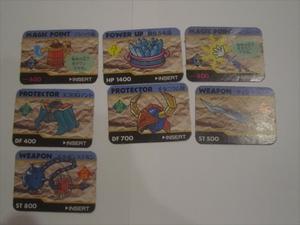 レア カード BARCODE BATTLERⅡ バーコードバトラー2 7枚 アイテムカード マジック瓶 聖なる水晶 エコロGマント モンゲルステルン