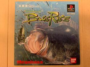 PS体験版ソフト バスライズ BassRise バンダイ BANDAI SLPM80374 未開封 非売品 バス釣りゲーム プレイステーション DEMO DISC PlayStation