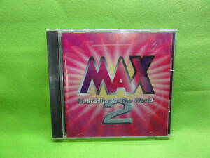 CD-41 CD MAX 2 / best Hits In The World 中古品