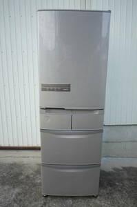 日立 ノンフロン冷凍冷蔵庫 幅60cmスリムな5ドア R-K40H 401リットル 2018年製