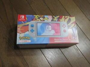 限定 任天堂 スイッチ ライト Nintendo Switch Lite ザシアン ザマゼンタ/ポケットモンスター ソード シールド 中古 ポケモン