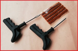 パンク修理キット c 即決 チューブレス用 ツーリング 携帯品 パンク タイヤ修理 修理工具