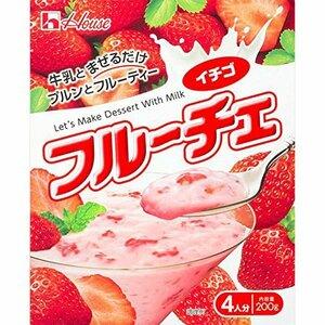 【ハウス食品】 フルーチェ イチゴ 200g 5入り