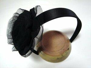Big Organsi & Satin Rose · Festone Katisha Black New · Handmade