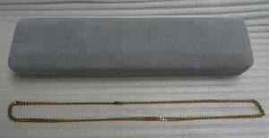 喜平 ネックレス K18 30g 約50cm 18金 2面 造幣局印 750