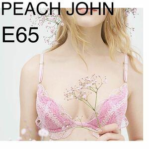 ピーチジョン ワイヤーレースブラ ピンク 女性用 下着 ブラジャー 未使用 美品 E65 谷間 PEACH JOHN