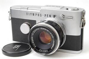 稀少セット オリンパス OLYMPUS-PEN FT 【F.Zuiko Auto-S 38mm F1.8】 ♯8747