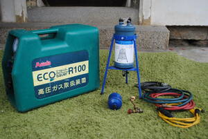 ke336 [ junk ] eko saver /Asada/ECO R100/ mobile freon recovery equipment / room air conditioner / package air conditioner /. exchange with function