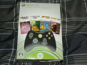 送料無料 Xbox360 ワイヤレス コントローラー ゲーム パック 即決