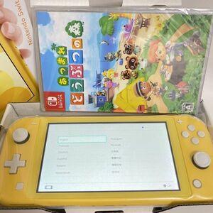 【新品 即配送可能】どうぶつの森セット Nintendo Switch Lite ニンテンドー 任天堂 スイッチ ライト イエロー 本体 ゲーム スプラトゥーン