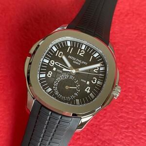 ★PATEK-PHILIPPE★パテックフィリップ AQUANAUT アクアノート TRAVEL TIME トラベルタイム 5164A-001 最高級腕時計!!