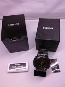 159-KA362◆60k【未使用・稼動品】CASIO G-SHOCK GA-100CF-1A9JF メンズ 腕時計 カシオ ジーショック アナデジ カジュアル
