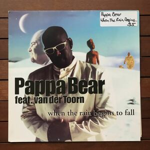 ●【eu-rap】Pappa Bear Feat. Van Der Toorn / When The Rain Begins To Fall[12inch]オリジナル盤《1-2》