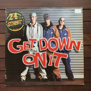 ●【eu-rap】24th Street / Get Down On It[12inch]80's _ kool & the gang / get down on itカバー _ オリジナル盤