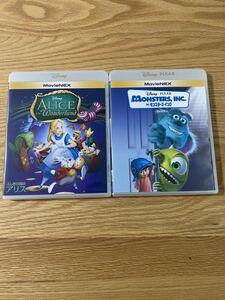 ディズニー  インク アリス 純正ケース 付き DVD 2点セット タイトル変更自由 国内正規品 未再生 ディズニーグッツ サービス中
