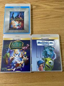 ディズニー  インク アリス 眠れる森の美女 純正ケース 付き DVD 3点セット タイトル変更自由 国内正規品 未再生