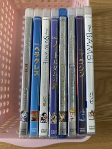 ディズニー 101匹わんちゃん など 純正ケース 付き DVD 8点セット タイトル変更自由 国内正規品 未再生 ディズニーグッツ