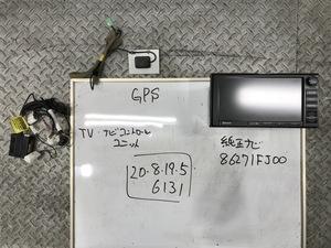 ★GP2 GP系 スバル インプレッサ 純正 HDDナビ Bluetooth/フルセグ搭載 地図2011年 CD/DVD/HDD良好 86271FJ100 135001-9040B101★
