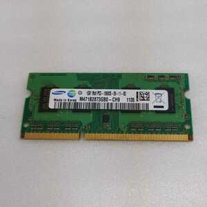 岐阜 即日 送料198円 ★SAMSUNG ノートPCメモリ1GB 1Rx8 PC3-10600S-09-11-B2 ★ 1GB×1枚 確認済 MD324