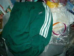 ブルマー カンコー グリーン 緑 かなり前の Kanko XOサイズ CーOY35 ポリエステル.100% 長期保管 外袋有 貴重です 未使用