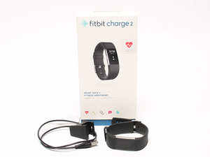 прекрасный товар Fit bit пульсомер фитнес Tracker измеритель пульса монитор фитнес напульсник Charge 2 L размер FB407SBKL-JPN Fitbit