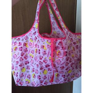 新品 星のカービィ 新品 レジカゴバッグ エコバッグ 総柄 トートバッグ レジかごトート 大きいバッグ 折り畳みエコバッグ コンパクト