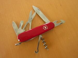 VICTORINOX( Victorinox )  инструмент  нож   пеший туризм   Нобору  гора   лагерь     класс  Таймер  ( Путешественник )