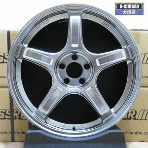 新品 未使用品 ★ SSR GT X03 7.5-18+48 5H100 新品 ホイール 4本セット プリウス 86 BRZ ウィッシュ カローラツーリング プリウス 002