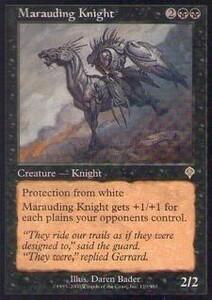 037074-002 IN/INV 無法の騎士/Marauding Knight 英1枚
