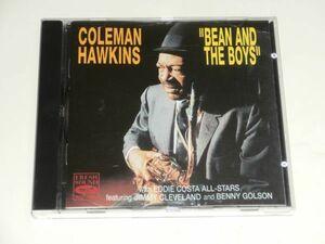 CD / コールマン・ホーキンス COLEMAN HAWKINS『BEAN AND THE BOYS』FRESH SOUND RECORDS FSCD-1013 スイス盤