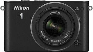 中古 美品 NIKON J3 レンズキット ブラック カメラ 人気 おすすす 初心者 ニコン