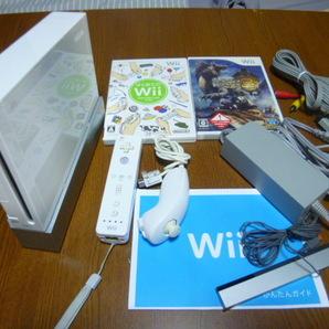 WH099【送料無料】Wii すぐに遊べるセット はじめてのWii モンスタハンター3(動作良好 クリーニング 初期化済)はじめてセット