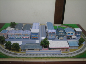 鉄道模型 ミニジオラマレイアウト