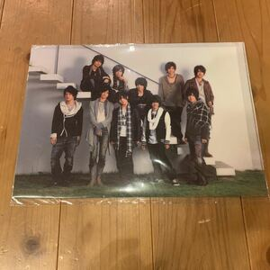 Hey! Say! JUMP 2009-2010 tour クリアファイル