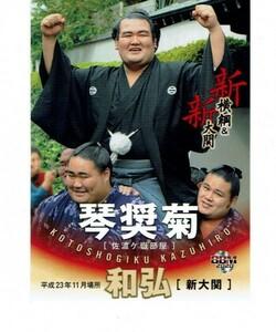 【琴奨菊】2020 BBM 大相撲 「新」 新横綱&新大関 カード #67