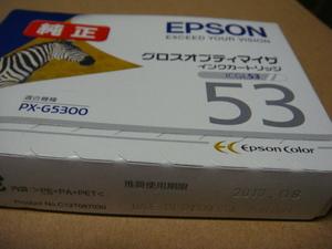 期限切れジャンク エプソン純正インク EPSON ICGL53