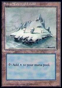 011380-003 IA/ICE 冠雪の島/Snow-Covered Island 英1枚 ▼