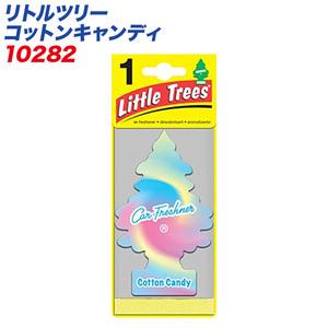 (メール便対応)バドショップ:LittleTrees エアーフレッシュナー コットンキャンディー 吊り下げ式芳香剤/10282