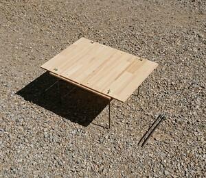 【サイズ、形が変わる】アウトドアテーブル【組立簡単、軽量、収納コンパクト】