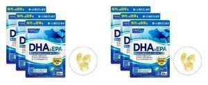 6袋★FANCL ファンケル DHA&EPA 約30日分x6袋(150粒x6袋)合計180日分★賞味期限2022/12
