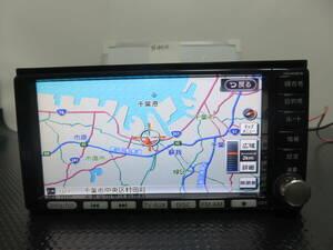 N455 動作品 保証付 日産純正HDDナビ2012年地図 HC309D-W 地デジフルセグTV CD/DVD 再生OK /XME-HD1100D 本体のみ