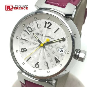 LOUIS VUITTON ルイヴィトン Q1313 レディース 腕時計 タンブール ホログラム クォーツ 腕時計 SS レディース