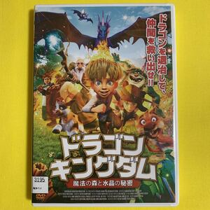 DVD ドラゴンキングダム 魔法の森と水晶の秘密 レンタル落ち