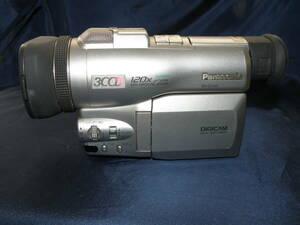 【即決】 パナソニック MiniDV デジタルビデオカメラ+ポータブルケース NV-DJ100 ジャンク品